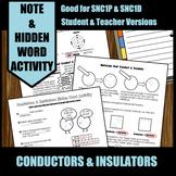 Conductors & Insulators