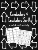 Conductors & Insulators Sort