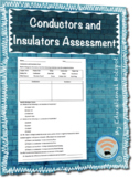 Conductors and Insulators Electrical Energy Assessment