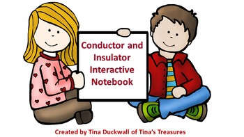 Conductors and Insulators Interactive Notebook Activity
