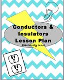 Conductors and Insulators Lesson Plan