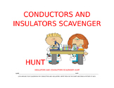 Conductors and Insulators Scavenger Hunt