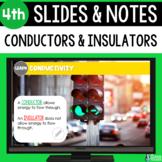 Conductors and Insulators Slides & Notes 4th | Bonus Dista