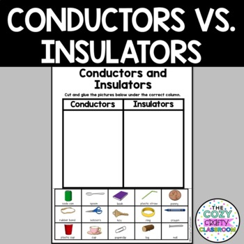 Conductors And Insulators Worksheet For 4th Grade - Geotwitter Kids ...