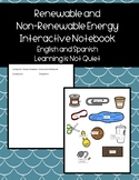 Conductors and Insulators Sort and Interactive Notebook (Spanish, English)