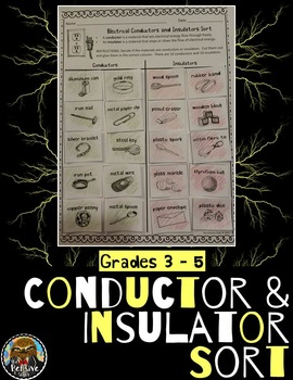 Conductors and Insulators Sort for Electrical Energy (Note