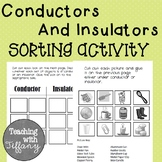Conductors and Insulators Sorting Activity