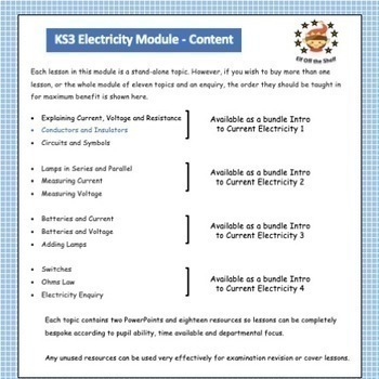 Conductors and Insulators - What and Why