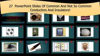 Conductors or Insulators of Electricity PowerPoint Game