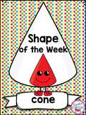 3D Shape Cone