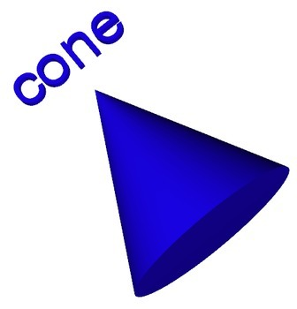 Cone - 3D Shape for Whiteboards and Smartboards FREE
