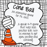 Cone Ball: A fun, strategic game for PE full of learning o