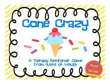 Cone Crazy Reinforcer Game