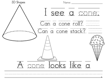 Cone Practice Page