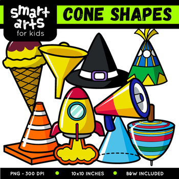Cone Shapes Clip Art