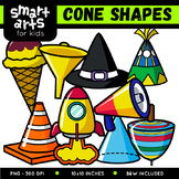 Math Cone Shapes Clip Art