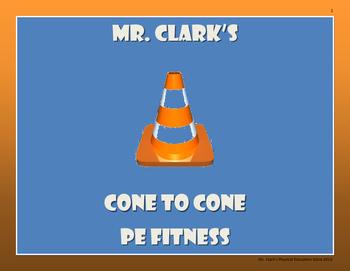 Cone to Cone PE Fitness