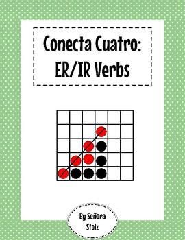 Conecta Cuatro: ER/IR Verbs