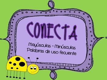 Conecta las Palabras de Uso Frecuente/Mayusculas-Minusculas!!!
