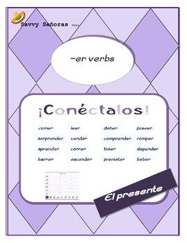 Conectalos: Conjugating -er verbs