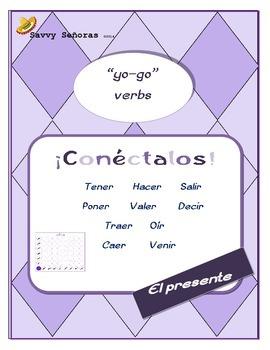"""Conectalos: Conjugating """"yo-go"""" verbs"""