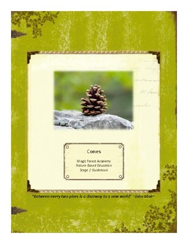 Cones Themed Nature Education Unit-Stage 2 (Magic Forest Academy)