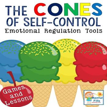 Anger Self-Control Activities: Cones of Regulation