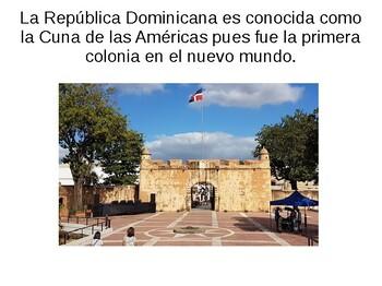 Conexiones culturales/ El turismo en la República Dominicana Tema # 5