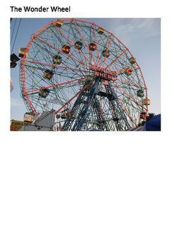 Coney Island New York Word Search