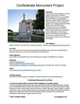 Confederate Monuments Critical Issue Lesson