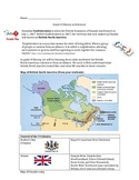 Confederation British North America Mapping Grade 8 History- Ontario New