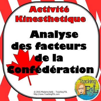 Confederation Factors Activity/Analyse des facteurs de la Confédération