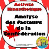 Confederation Factors Activity/Analyse des facteurs de la