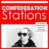 Confederation Stations - Canadian Confederation Station Activity
