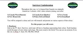 Confederation Survivor