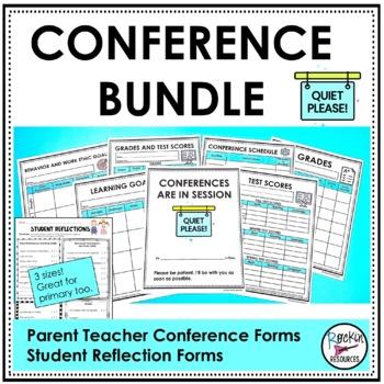 Conference Bundle STUDENT LED CONFERENCES Conference forms