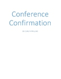 Conference Confirmation