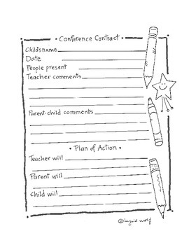 Conference Contract Form