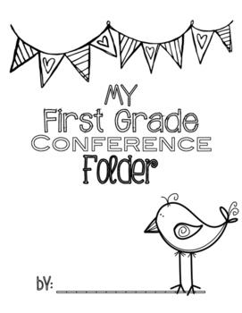 Conference Folder Cover FREEBIE!