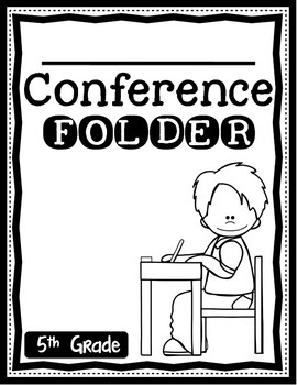 Parent Teacher Conference Folders