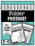 Conference Folder FREEBIE
