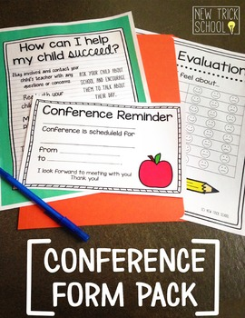 Conference Form Pack [Editable]