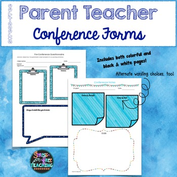 Conference Forms