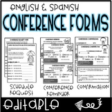 Conference Forms: English & Spanish