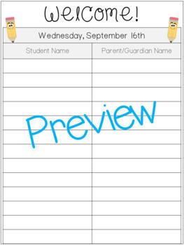 Parent Teacher Conference Forms & Handouts Pack!