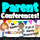 Parent Teacher Conference Forms & Handouts Pack!