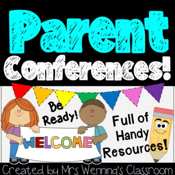 Parent Teacher Conference Forms and Handouts Pack!