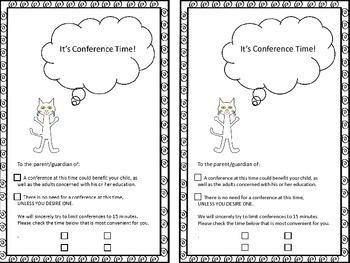 Conference Forms -Freebie