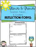 Conference Forms- Glows & Grows