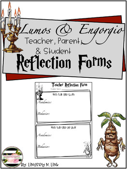 Conference Forms- Harry Potter Themed Lumos and Engorgio